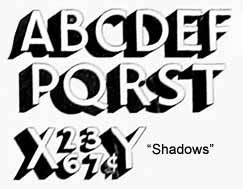 add lines instead of shadows