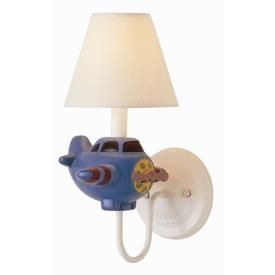 Trans Globe Lighting KDL-206 One #Light #Wall #Sconce #plane #airplane $40.24 (on closeout) #boys