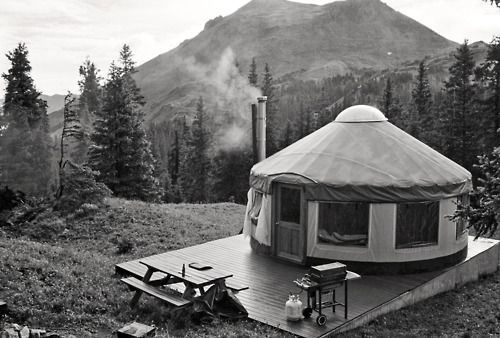 Home is where the Yurt is.