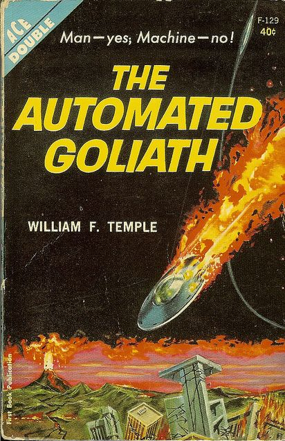 Automated Goliath, William F. Temple (1963), cover by Ed Emshwiller