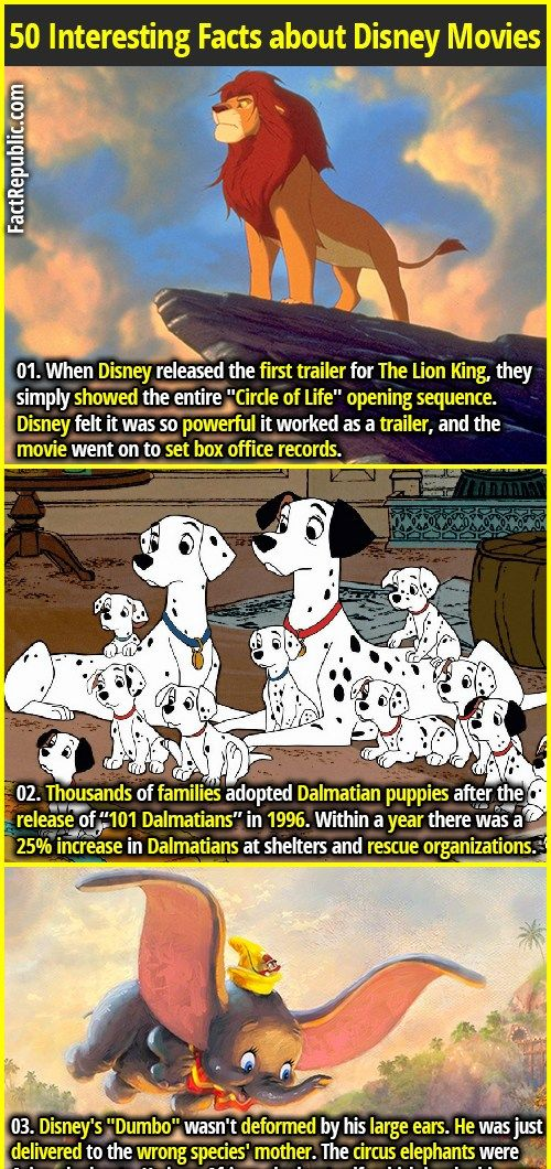 50 Interesting Facts about Disney Movies