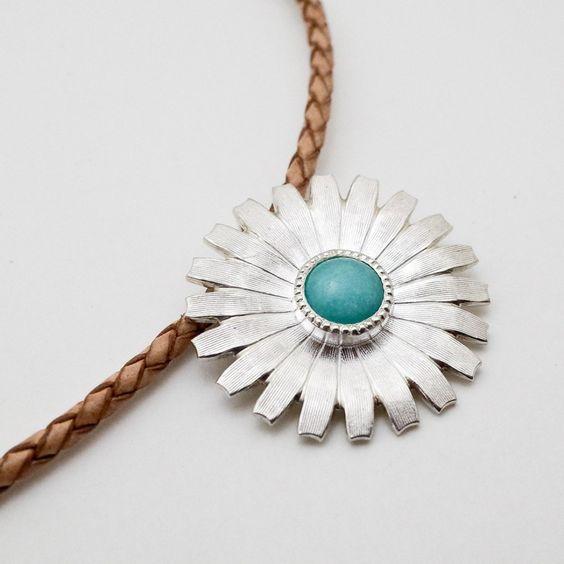 #daisy #plants #flower #pendant  #silver #amazonite #feldspar #microcline #handcraft #jewelry #デイジー  #ペンダント #アマゾナイト #フェルドスパー #マイクロクライン #植物 #花 #ハンドメイド