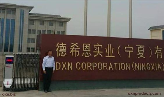 Clean environment an no pollution area for DXN China
