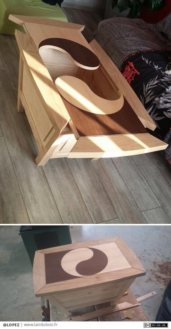 Table Basse En Aretier Par Lopez Idees De Bois Petites Creations En Bois Projets De Mobilier