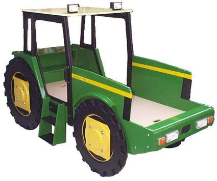Tractor beds tractor tonka style dump truck early to bed and early to rise farm jaxon - Dump truck twin bed ...