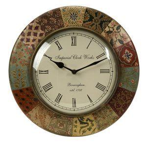 Barberry Handpainted Wall Clock