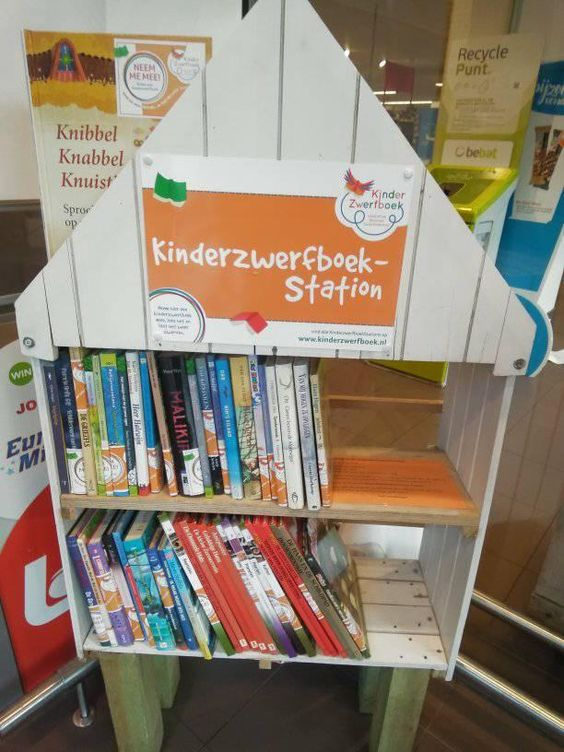 Kinderzwerfboekenstation Foeksia Berchem