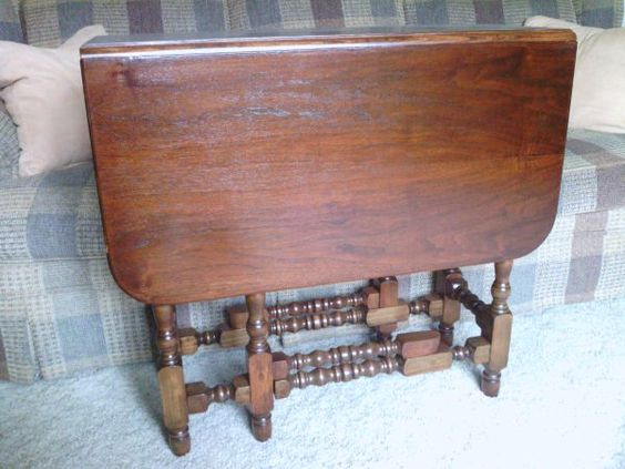 Late 1920s antique drop leaf gate leg table it was my mother 39 s now i have it there is a - Gateleg table with drawers ...