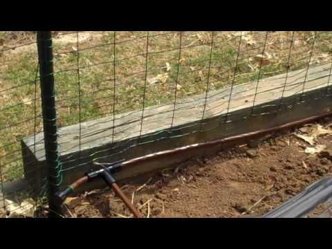 Gravity Fed Drip Irrigation System for a Small Garden.mp4