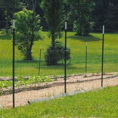8/' x 330/' Deer Fence Trident Extra Strength Garden Animal Fencing