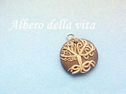 """Albero della Vita in Fimo - ( """"Tree of Life"""" Polymer Clay Tutorial) - YouTube"""