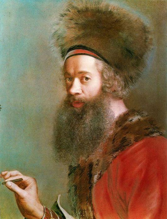 Jean-Etienne Liotard self porttrait