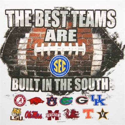The Best Teams Are Built In The South. Amen!