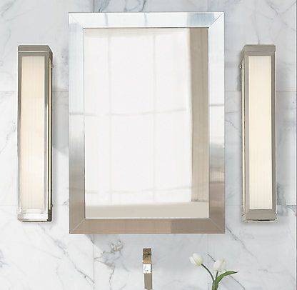Medicine cabinets restoration hardware bath for Restoration hardware bathroom cabinets