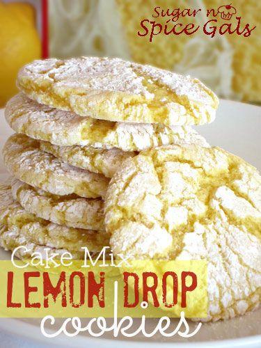 mixes lemon drops archway cookies spices lemon cake cookies lemon drop ...