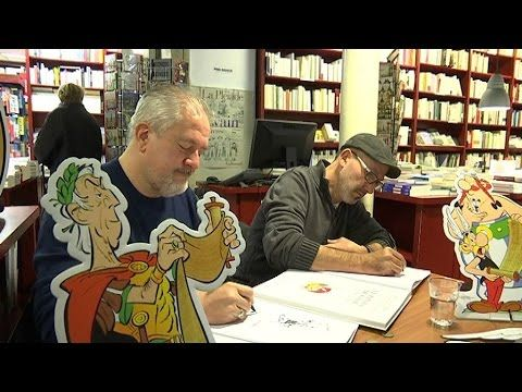 """""""Le papyrus de César"""", 36e album d'Astérix, débarque en librairies - YouTube"""
