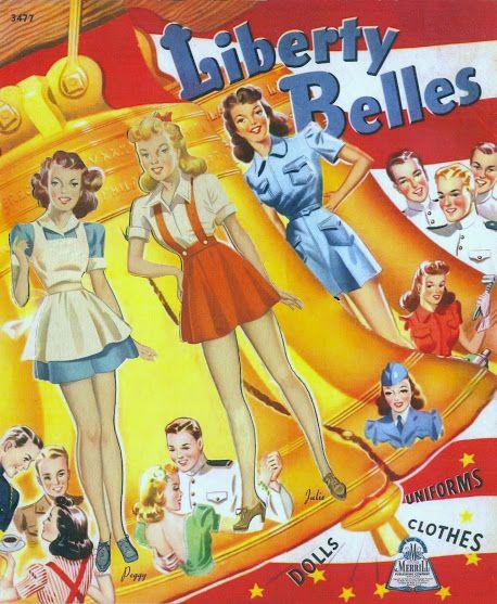 Liberty Belles 1943 Saalfield