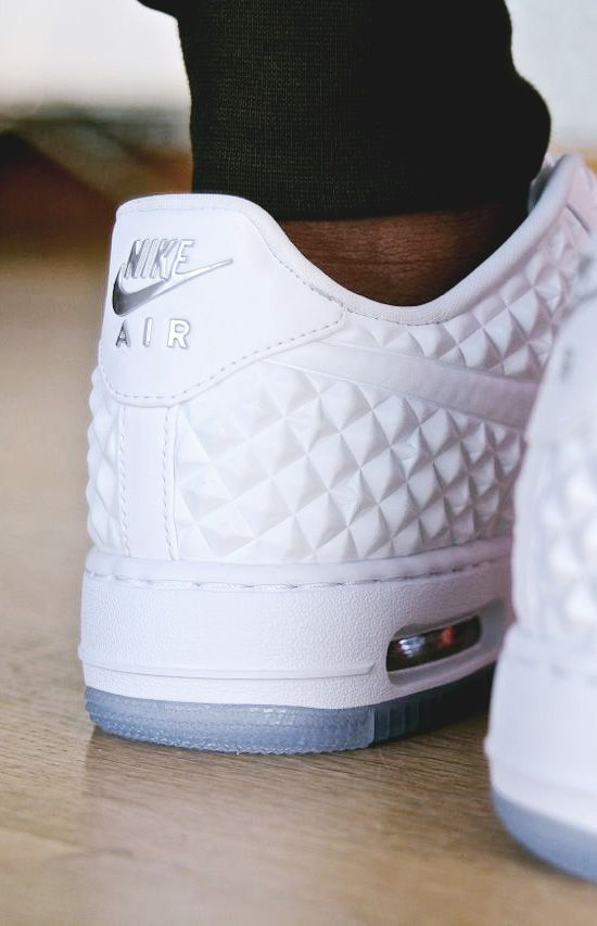 zapatillas nike air force blancas mujer