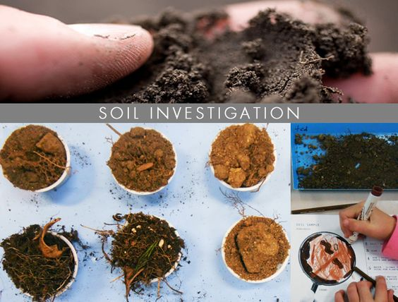 Different types soil type and different types of on pinterest for Why are soils different
