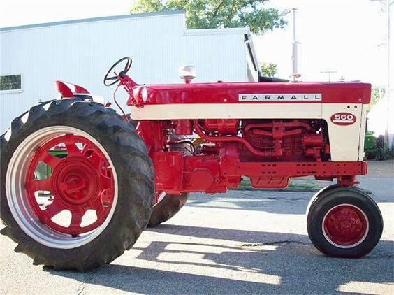 1960 International Tractor : International harvester vintage signs and john deere on