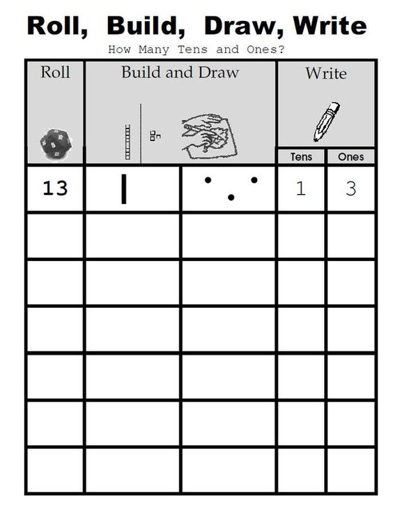 Introducing place value dice game | Math | Pinterest | Portal ...
