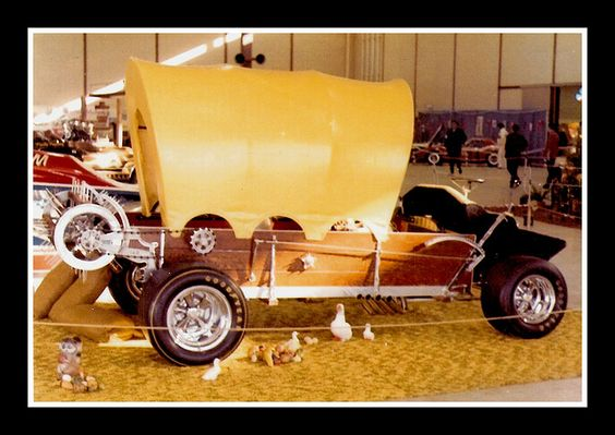Custom Show Car, 1975 by Cosmo Lutz, via Flickr