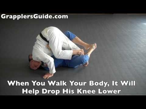 Half guard passes! Beginner BJJ Fundamentals -Foot Wedge Half Guard Pass Concepts - Jason Scully - YouTube