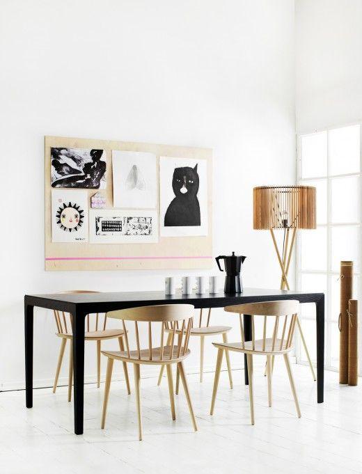 DIY: Art on plywood, via Deko