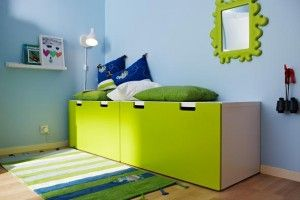 stuva chez ikea malad boite banc en rose vert bleu noir ou blanc l90 x p50 x h50 banc. Black Bedroom Furniture Sets. Home Design Ideas