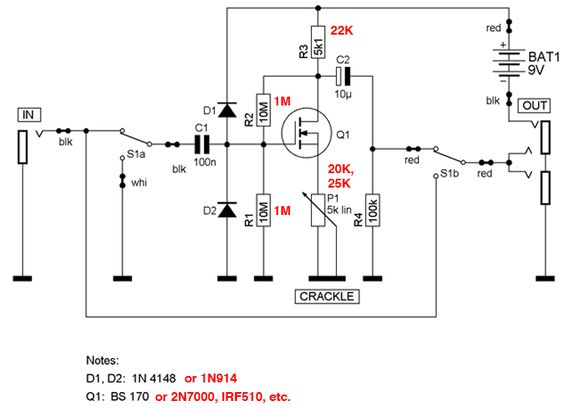 [FPER_4992]  Quick And Easy DIY SHO | Telecaster Guitar Forum | Diy guitar pedal, Guitar  effects, Electronics basics | Fender Deluxe P B Wiring Diagram |  | Pinterest