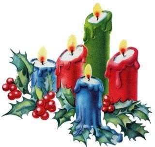 Vintage Christmas art