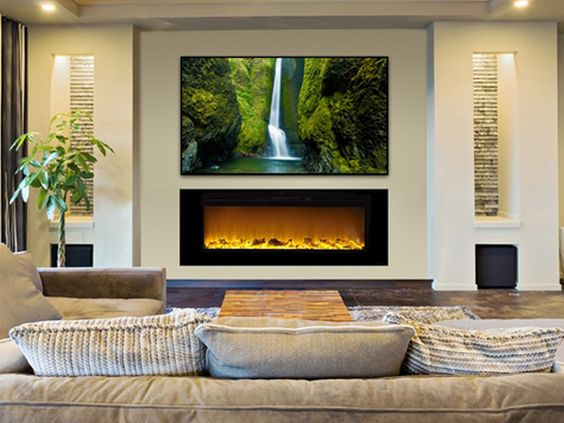 Touchstone Tv Lift Cabinets And Electric Fireplaces Downstairs Living Room Pinterest