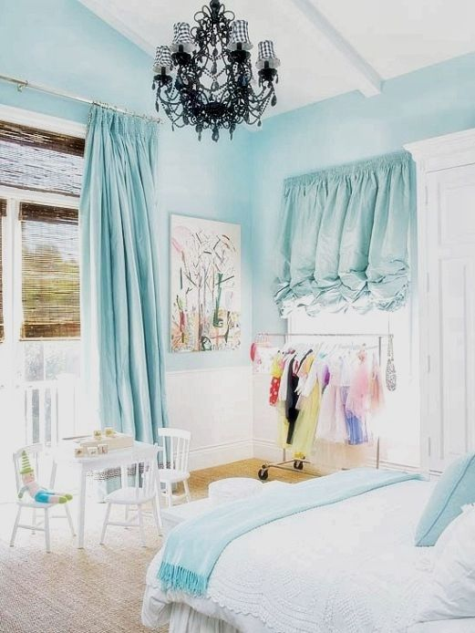 Girl Room Design Ideas Paint Is Something That It Is Advisable To Spend Money On But Only High Quali Light Blue Bedroom Girls Blue Bedroom Blue Bedroom Walls