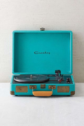 Crosley x UO Cruiser Briefcase Portable Vinyl Record Player Turquoise #recordplayer #vinyl #turntable $229.00