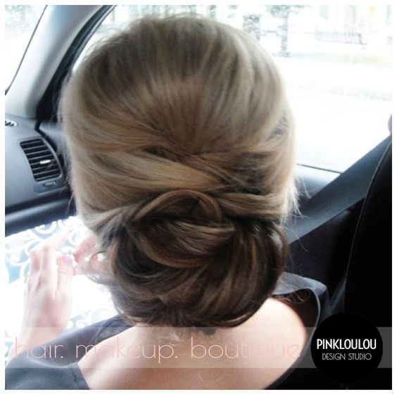 Bridal hair wedding hair updo