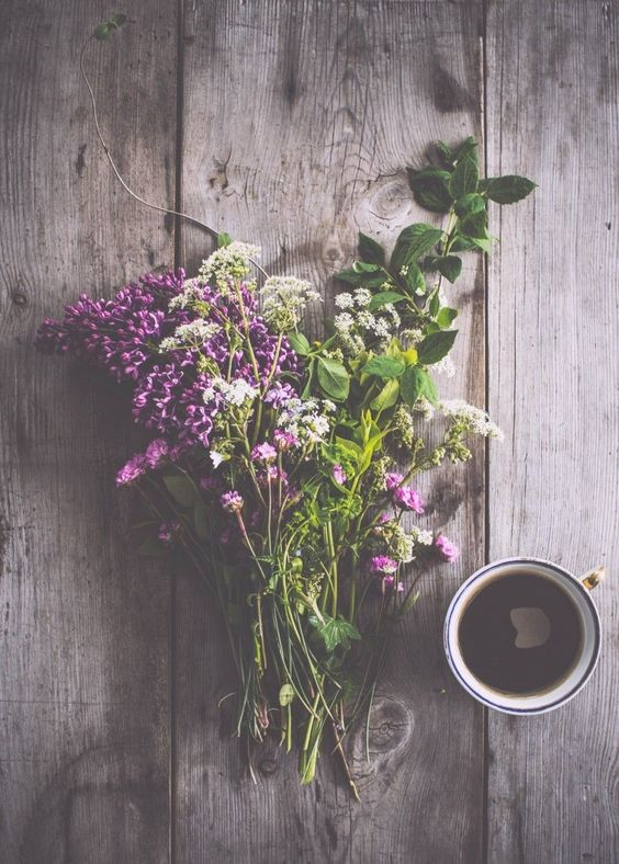 Flowers + Coffee
