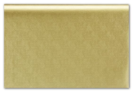 Solid Pattern Tissue Paper - Embossed Gold Swirls Tissue Paper, 20 x 30' (100 Sheets