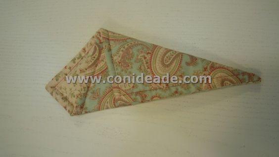 Hacer una funda para tijeras con tela patchwork