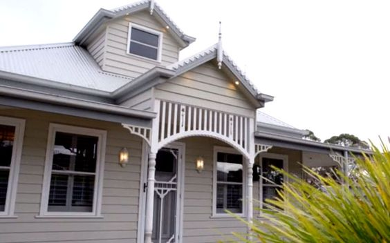 Building A Modern Charming Weatherboard Cottage Case