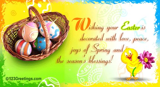 easter sunday card messages – Easter Greeting Card Sayings