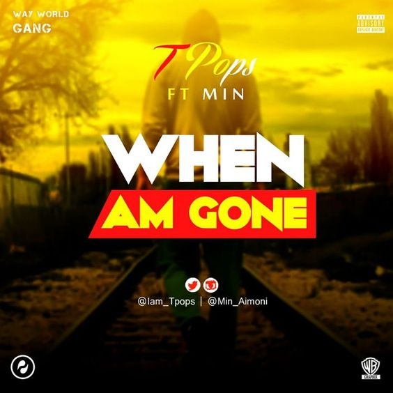 The expert rapper TPOPS took a short rest from the music scene because of a few reasons best known to him. He chose to dole out this specific piece to spill out his psyche with respect to the break.   #Min #Tpops #TPops Ft Min - When Am Gone