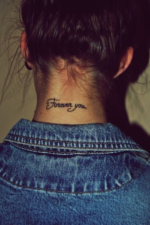 forever you quote neck g e t i
