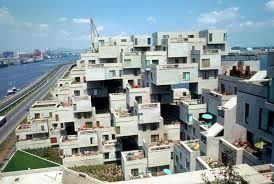 Habitat 67, Montreal, designed by Moshe Safdie