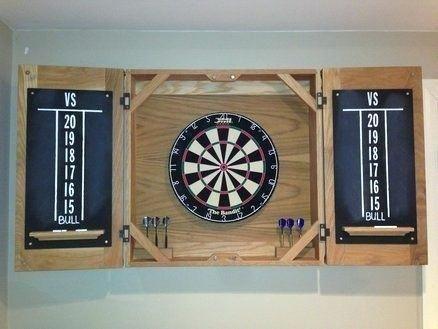 Dartboard Cabinet Plan Classic Dart Board Cabinet Diy Electronic Dartboard Cabinet Dartboard Cabinet Plans Free Schrank Spiel Und Spass Holz