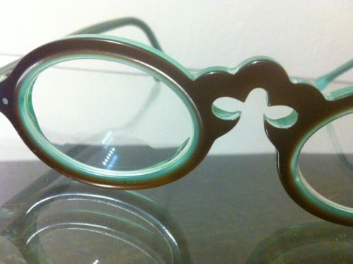 jean lafont paris turquoise chocolate acrylic eyeglass glasses frames sampan 710 eye glasses eyewear and turquoise - Ebay Eyeglasses Frames