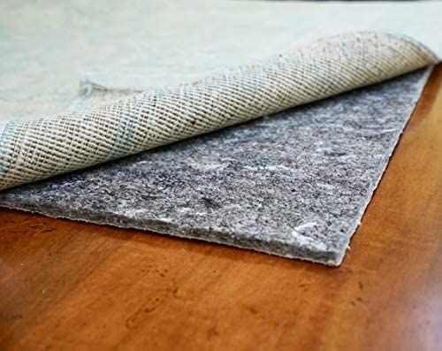 Amazon Com Rugpadusa Dual Surface 2 X6 1 4 Thick Felt Rubber Non Slip Backing Rug Pad Adds Comfort And Protection In 2020 Rug Pad Rugs Carpet Padding