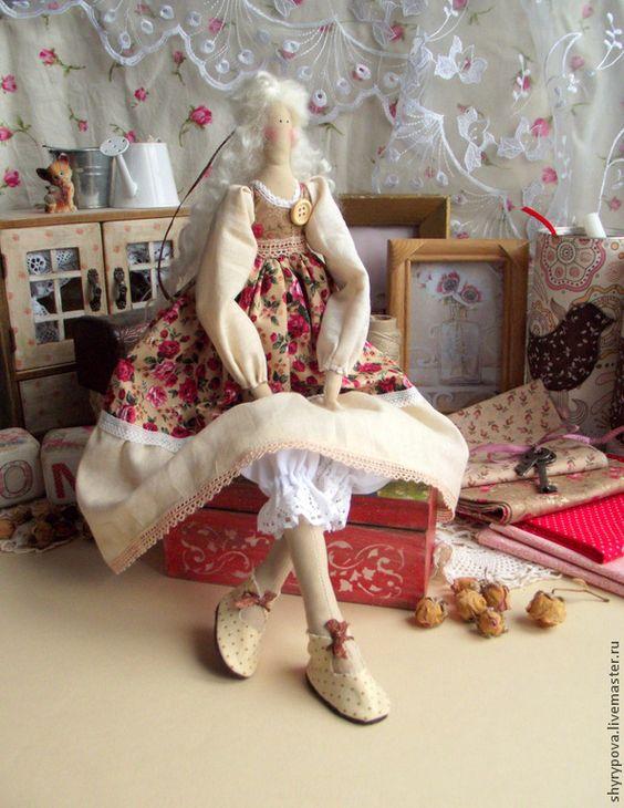 Клаудия - тильда,кукла,куклы,теекстиль,текстильная кукла,интерьерная кукла