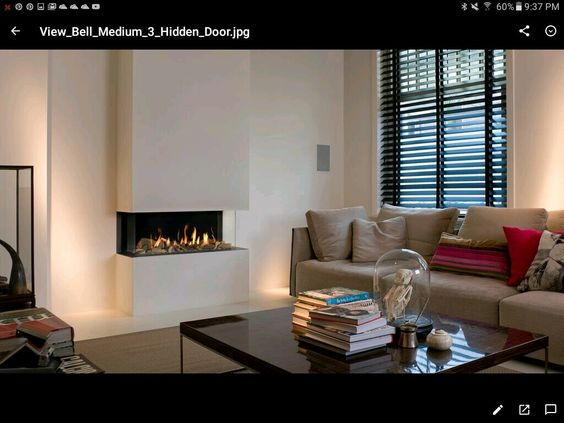 Stylish European Fireplace