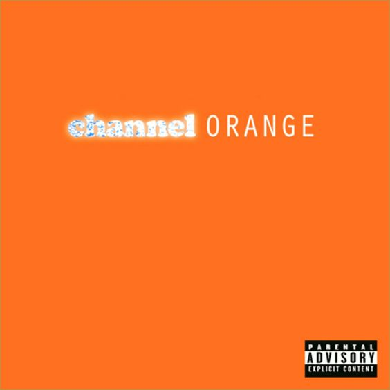 55th GRAMMY Award nominee - Album Of The Year   Channel Orange - Frank Ocean