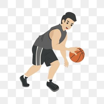 Basketball Play Basketball Basketball Player Athlete Cartoon Cartoon Basketball Man Playing Basketball Png And Vector With Transparent Background For Free Do Basketball Plays Basketball Players Cartoon Man
